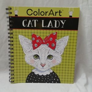 Color Art Cat Lady by New Seasons; Publications
